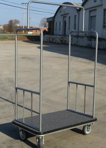 Hotel Luggage Cart by Acme Metal Products